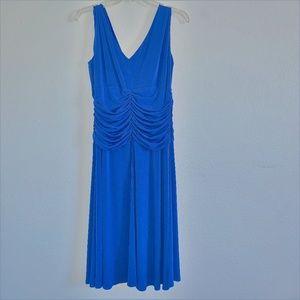 Dress Barn Blue Jersey Dress